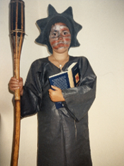 Ich als Freiheitsstatue 2002